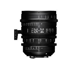 Sigma 24-35mm T2.2 Canon EF Mount Cine Lens