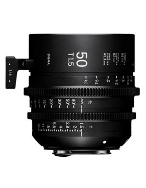 Sigma 50mm T1.5 Canon EF Mount Cine Lens