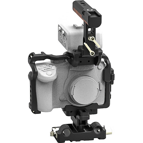 Movcam Cage Kit for GH5 inc 2x 15mm rods