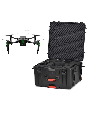 HPRC 4600W - Wheeled Hard Case with Foam for DJI Matrice 100