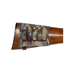 Grovtec Buttstock Cartridge Shell Holder Shotgun Open Style (TrueTimber Camo)