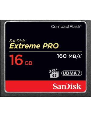 SanDisk Extreme Pro CompactFlash 16GB 160MB/s **