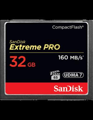 SanDisk Extreme Pro CompactFlash 32GB 160MB/s