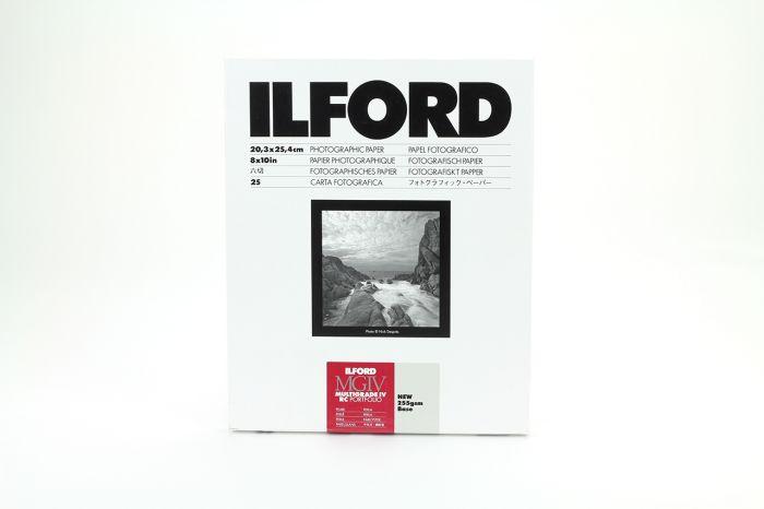 Ilford Multigrade IV RC Portfolio 44KPearl 30.5x40.6cm 10 Sheets PFOLIO44K