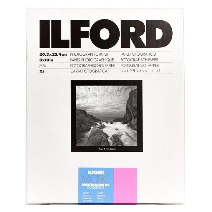Ilford Multigrade RC Cooltone Glossy 8x10