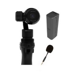 DJI Osmo Bundle Osmo & 2 x Osmo PT53/PT54 Battery & Microphone