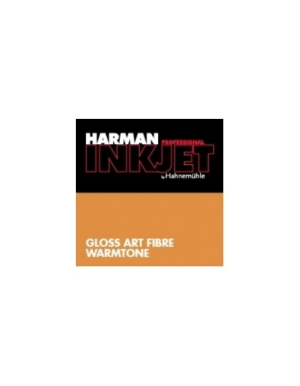 Hahnemuhle Gloss Art Fibre Warmtone 43.2cmx15m (17