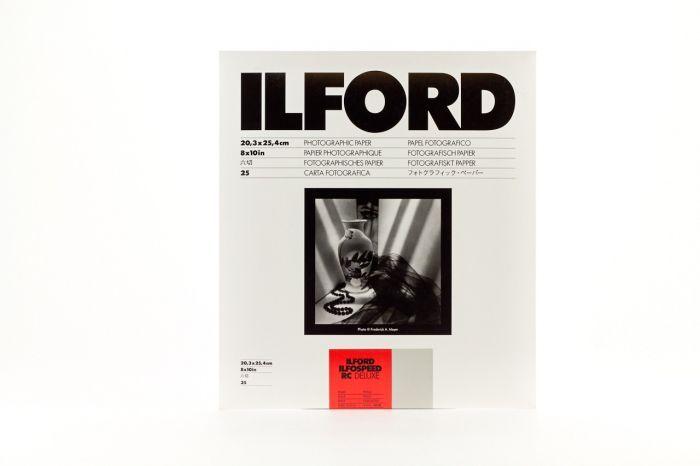 Ilford Ilfospeed RC Deluxe Pearl Grade2 8x10