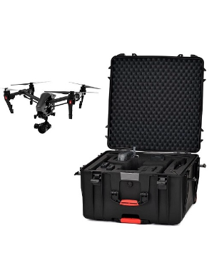 HPRC 4600W Wheeled Hard Case with Foam for DJI Inspire 2 / Inspire 1 Pro