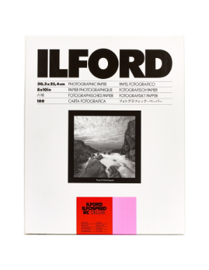 Ilford Ilfospeed RC Deluxe Glossy Grade 1 24x30.5cm 50 Sheets ISRC11M