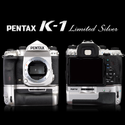 Pentax K-1 Full Frame DSLR Camera (Body Only) Limited Edition Silver