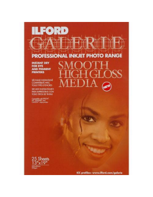 Ilford Galerie Smooth High Gloss Media (235gsm) 13x19