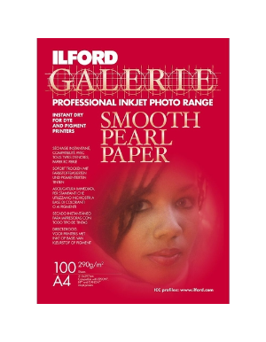 Ilford Galerie Smooth Pearl Paper (290gsm) 16.5x23.4