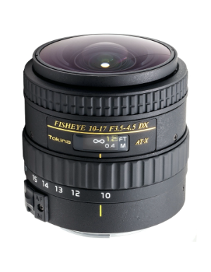 Tokina 10-17mm f/3.5-4.5 DX NH for Canon EOS
