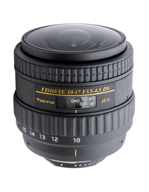 Tokina 10-17mm f/3.5-4.5 DX NH for Nikon