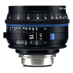Zeiss CP.3 15mm/T2.9  feet Canon EF mount