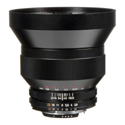 Zeiss Distagon 15mm f/2.8 ZF.2 for Nikon Modified without hood