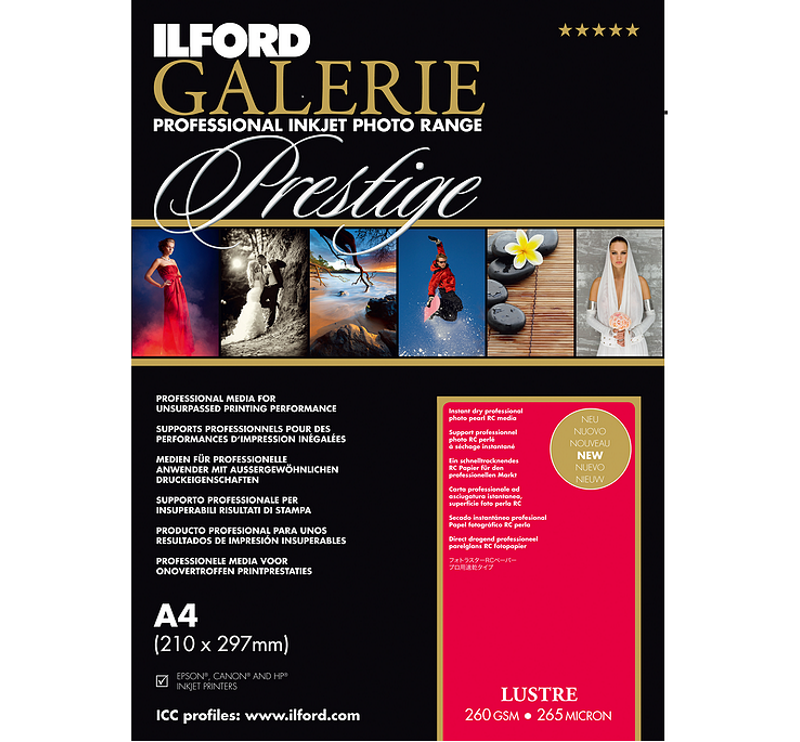 Ilford Galerie Lustre (260gsm) 8.5x11
