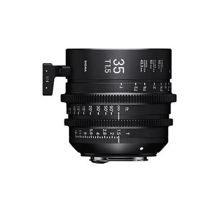 Sigma 35mm T1.5 FF High Speed Prime Cine Lens