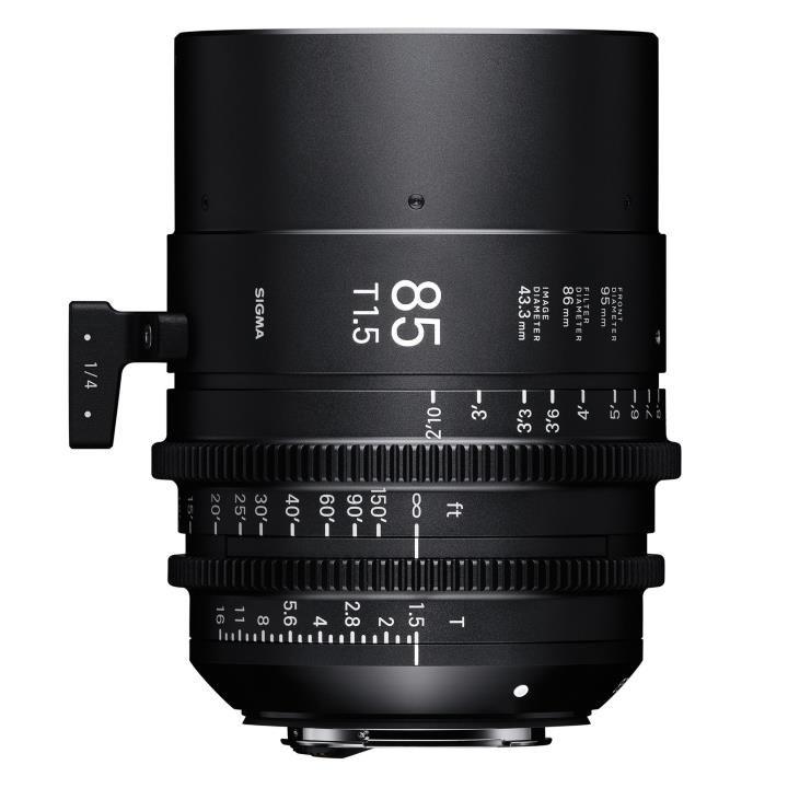 Sigma 85mm T1.5 FF High Speed Prime Cine Lens