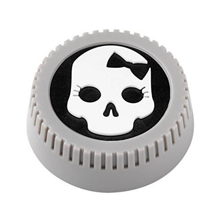 BlackRapid LensBling Skull Bow Lenscap for Nikon