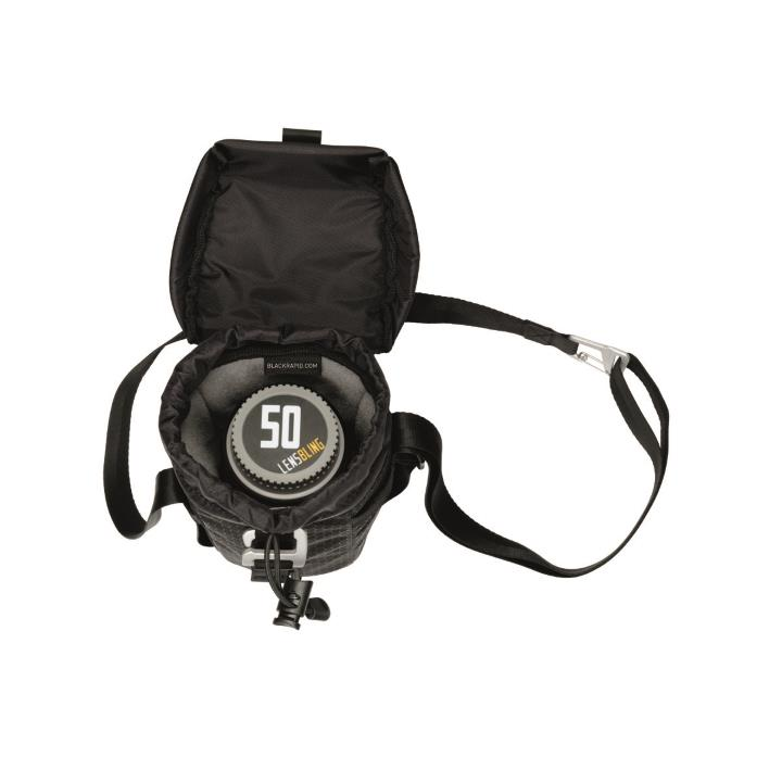blackrapid lens bag - top