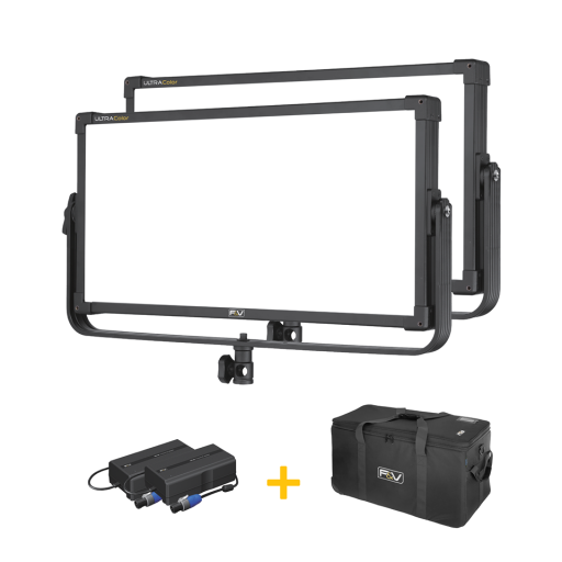 F&V UltraColor Z800S Soft Bi-Color 2 Light Kit