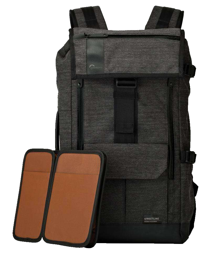 Lowepro Streetline Bp 250 Backpack Charcoal Grey 680969 Cr Sh 120 Flexible Protection