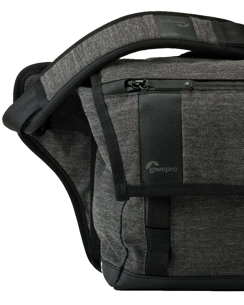 Lowepro Streetline Sl 140 Sling Bag Charcoal Grey 680967 Cr Sh 120 Refined Details