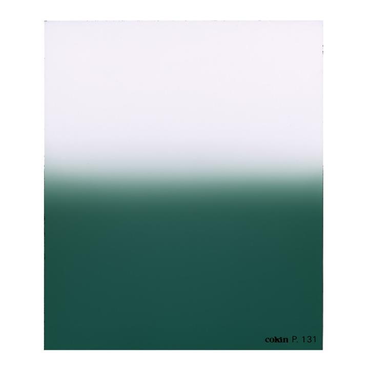 Cokin E2 - Graduated Emerald M (P) Filter - Hard 3-Stop