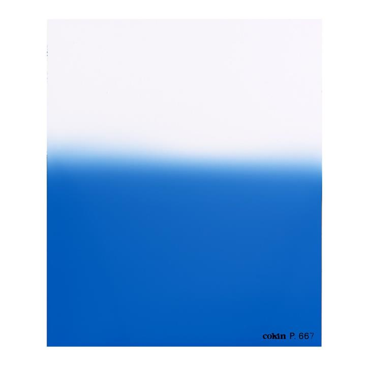 Cokin Graduated Fluorescent Blue 2 Filter