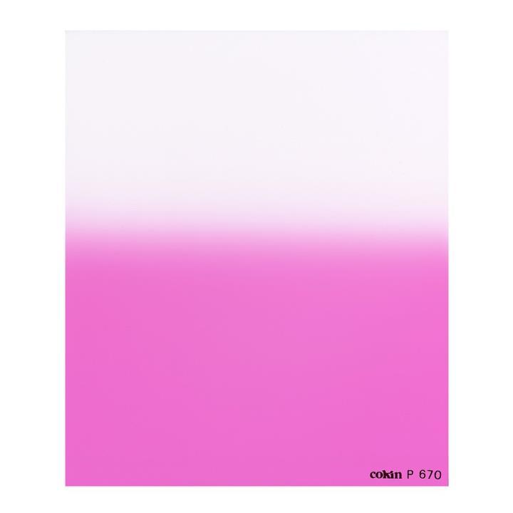 Cokin Graduated Fluorescent Pink 1 Filter