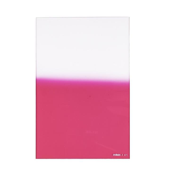 Cokin Graduated Fluorescent Pink 2 Filter