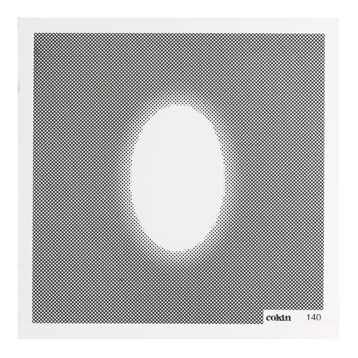 Cokin White Oval Center Spot