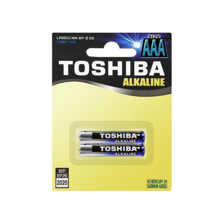 Toshiba AAA 2 piece Alkaline Battery