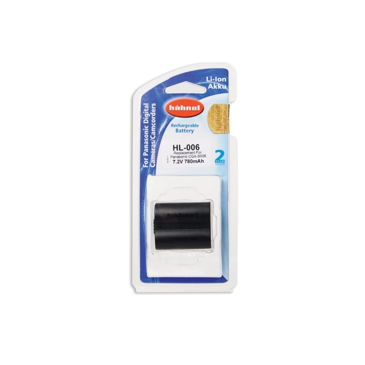 Hahnel CGA-S006 780mAh 7.2V Battery for Panasonic