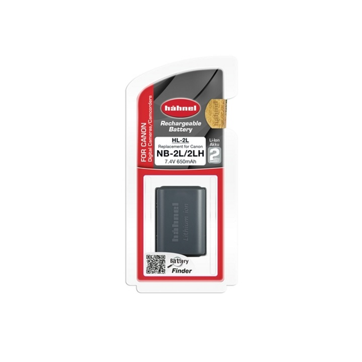 Hahnel NB-2L/2LH 650mAh 7.4V Battery for Canon