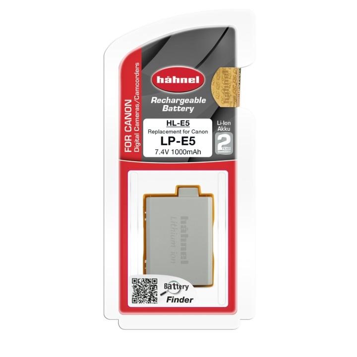 Hahnel LP-E5 1000mAh 7.4V Battery for Canon