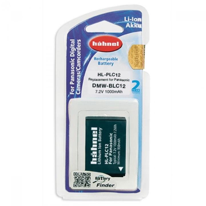 Hahnel DMW-BLC12 1000mAh 7.2V Battery for Panasonic
