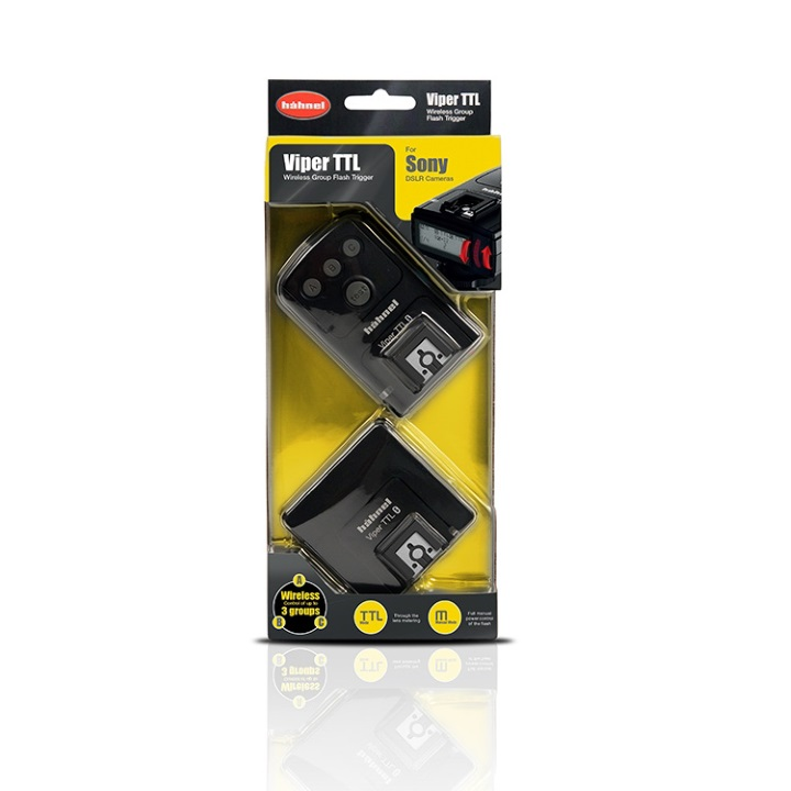 Hahnel Viper TTL Wireless Flash Trigger for Sony