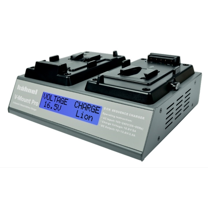 Hahnel V-Mount Pro Twin Universal Charger