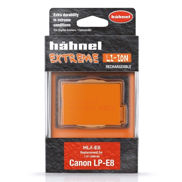 Hahnel EXTREME LP-E8 1200mAh 7.2V Battery for Canon