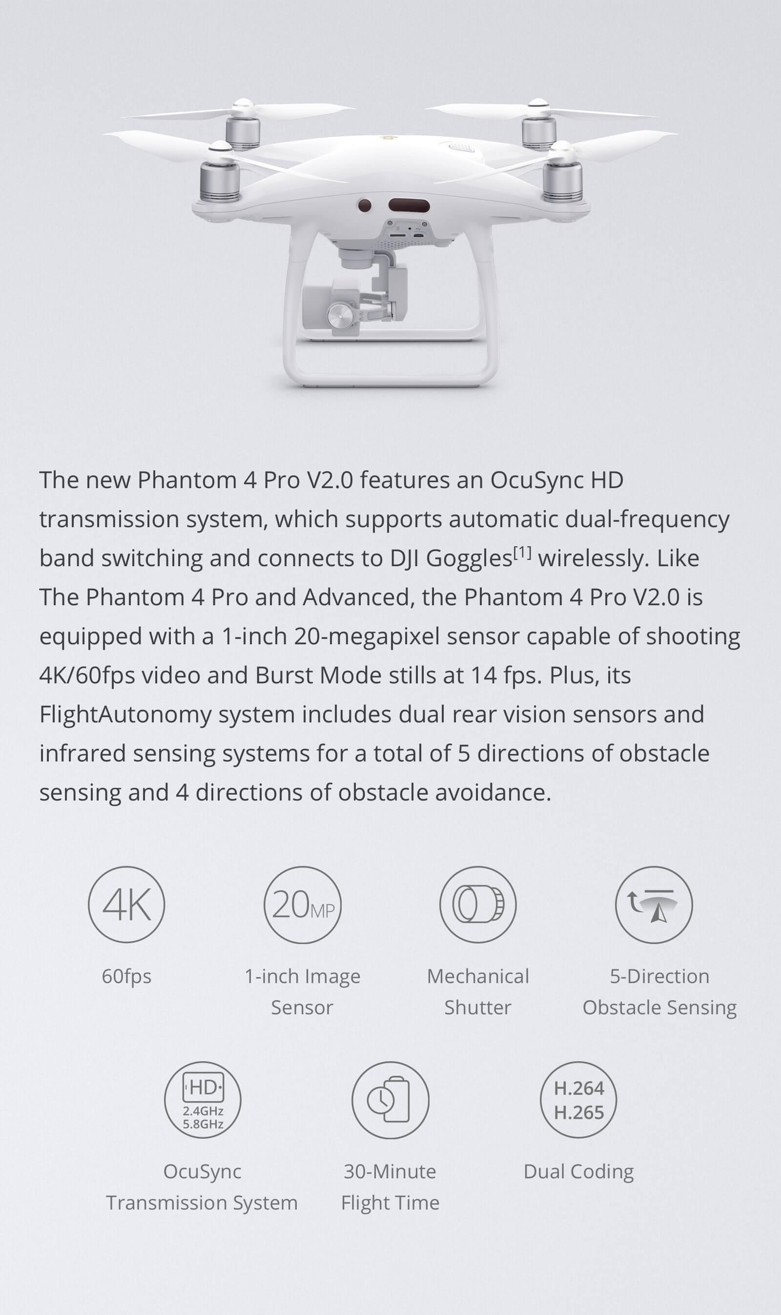 Phantom 4 Pro V2.0 & Pro+ V2.0