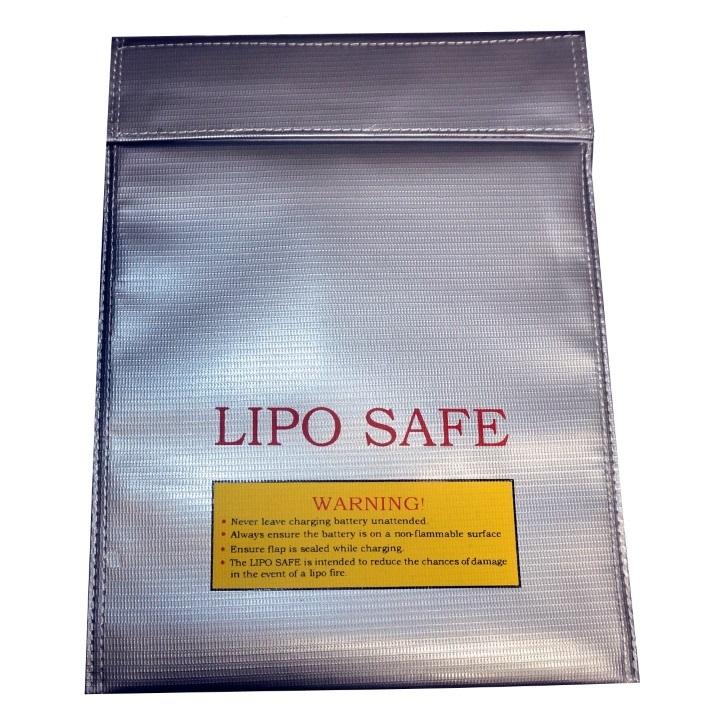 LIPO Safe Battery Charge & Storage Bag / Sack - 25 x 33cm