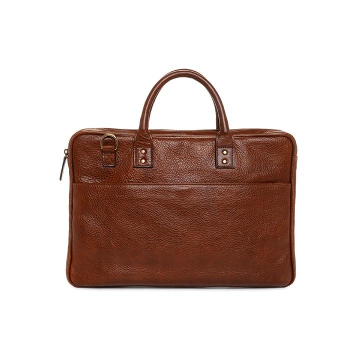 ONA Kingston Laptop Briefcase - Walnut **