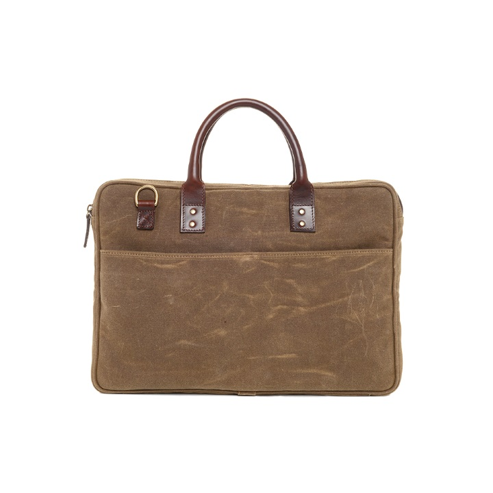 ONA Kingston Laptop Briefcase - Field Tan **