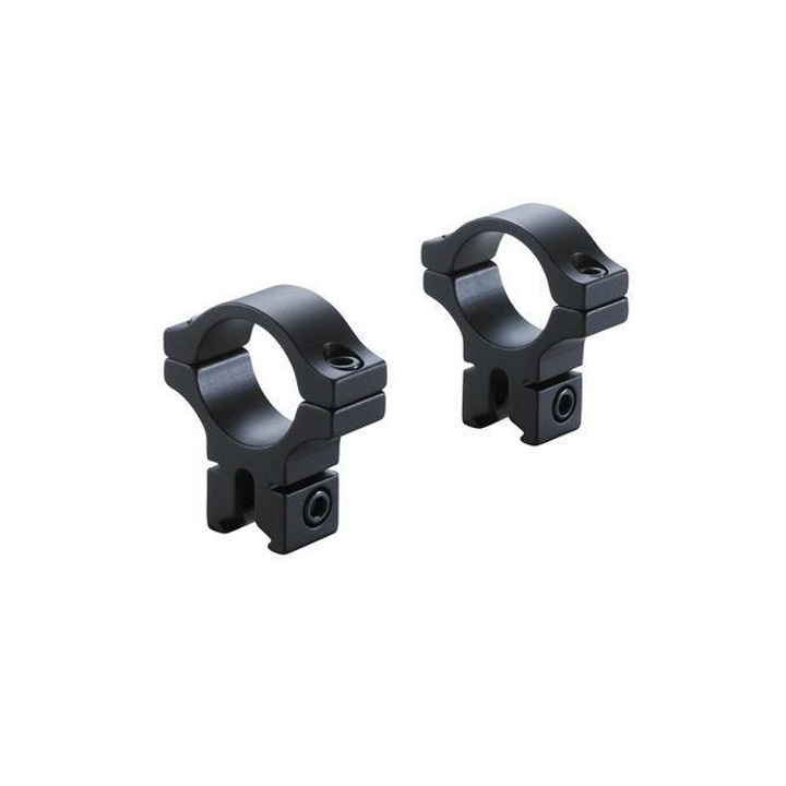 BKL-257H 0.6 Long Dovetail Rings High - Matte Black