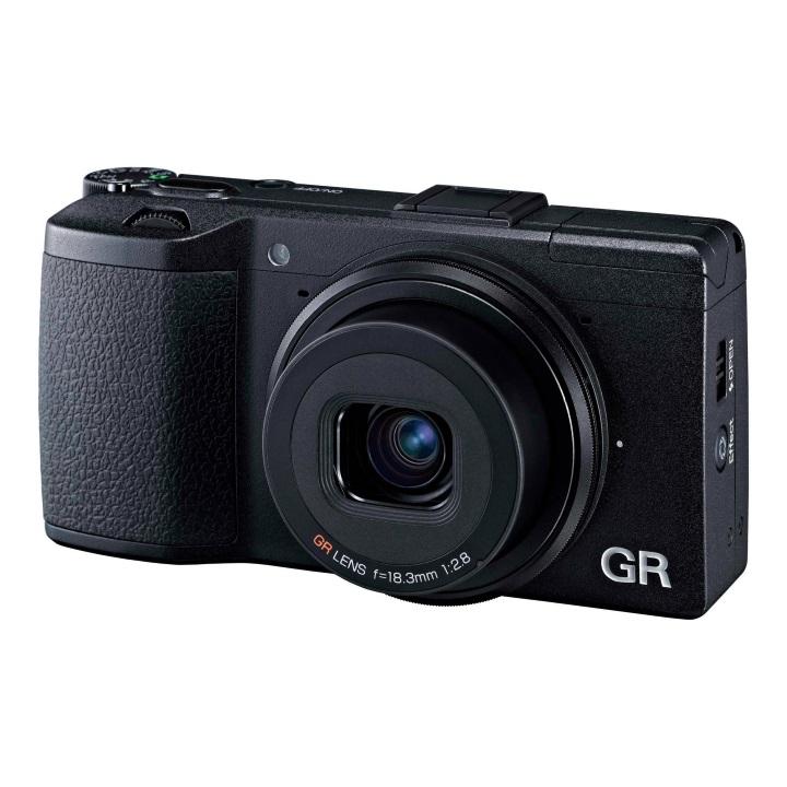 Ricoh GR II Digital Camera - Black