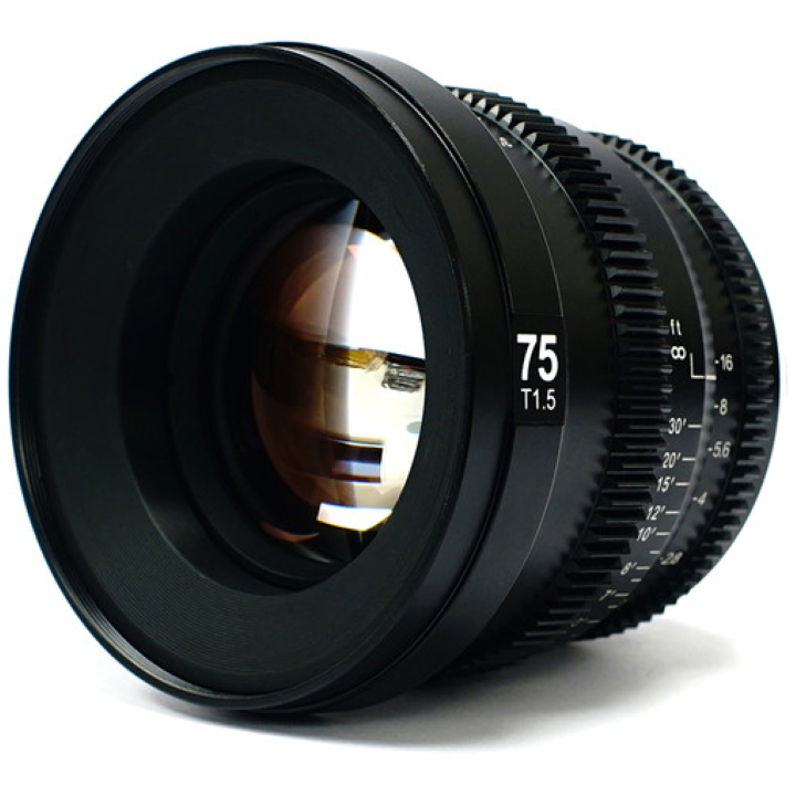 SLR Magic MicroPrime Cine 75mm T1.5 lens E Mount