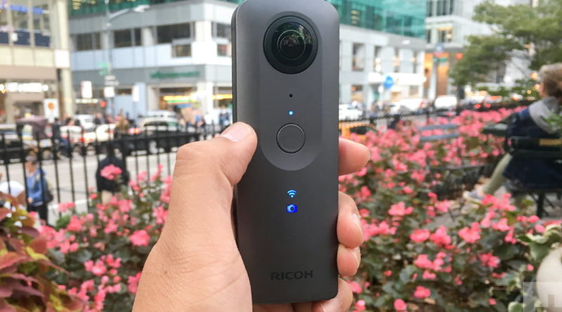 Ricoh Theta V 4K Spherical VR Camera